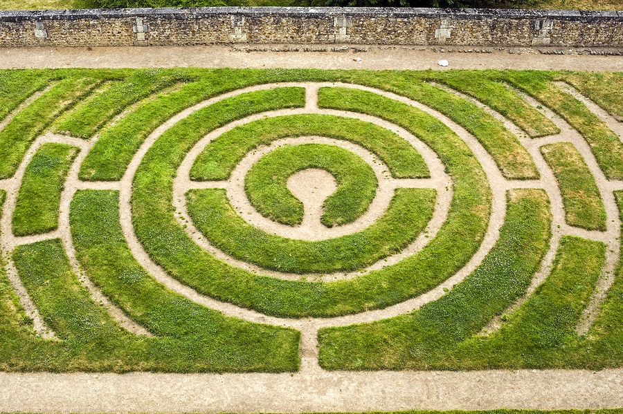 Chartres-Labyrinth